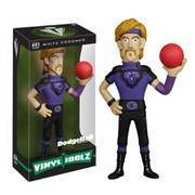 Dodgeball White Goodman Vinyl Sugar Idolz