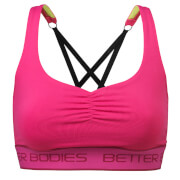 Better Bodies Athlete Short Top - Hot Pink