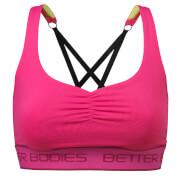 Better Bodies Athlete Short Top - Hot Pink