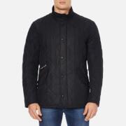 Barbour Men's Chelsea Sportsquilt Coat - Black