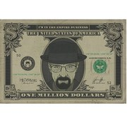 Breaking Bad Heisenberg Dollar - 24 x 36 Inches Maxi Poster