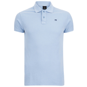 Scotch & Soda Men's Garment Dyed Polo Shirt - Blue