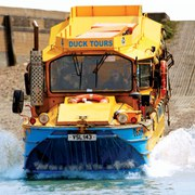 An Amphibious Vehicle Tour of London for Two
