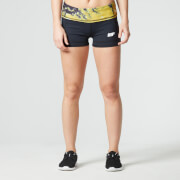 Shorts Atléticos para Mujer FT Myprotein- Color Dorado