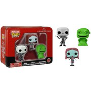 Disney Nightmare Before Christmas Pocket Mini Pop! Vinyl Figure 3 Pack Tin