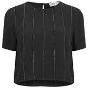 MICHAEL MICHAEL KORS Women's Studded Top - Black