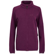Jack Wolfskin Women's Caribou Altis Fleece Jacket - Wild Berry