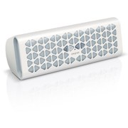 Creative MUVO 20 Wireless Portable Bluetooth and NFC Speaker (Includes Phone Charger and Mic) - White