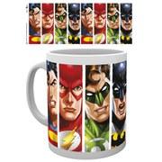 DC Comics Justice League Faces - Mug