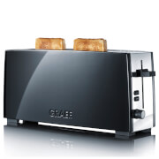 Graef Long Slot 2 Slice Toaster - Black Gloss