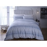 Bianca Spot Oxford Pillowcases - Blue