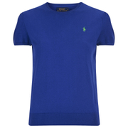 Polo Ralph Lauren Women's Short Sleeve Sweatshirt - Cruise Royal