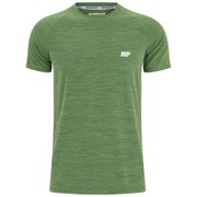 Myprotein Men's Performance Short Sleeve Top - Green Marl (USA)