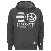Crosshatch Men's Classix Print Hoody - Forged Iron