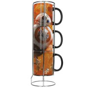 Lot de Tasses Empilables BB-8 -Star Wars, épisode VII