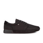 Boxfresh Men's Struct Ripstop Low Top Trainers - Black