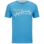 Tokyo Laundry Men's Norman Printed T-Shirt - Turquoise