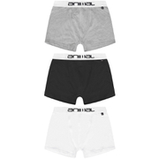 Lot de 3 Boxers Animal - Noir/Blanc/Gris