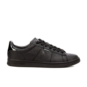 Jack & Jones Men's Bane PU Trainers - Anthracite