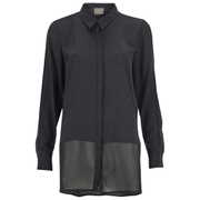 Vero Moda Women's Lotus Long Sleeve Long Shirt - Phantom
