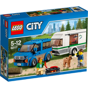 LEGO City: Van and Caravan (60117)