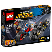 LEGO DC Comics Batman Batcycle-Verfolgungjagd in Gotham City (76053)