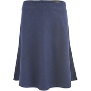 Selected Femme Women's Selma Midi Denim Skirt - Dark Blue Denim