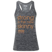 Mio Skincare Women's Performance Slogan Vest - Black