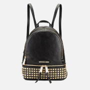 MICHAEL MICHAEL KORS Women's Rhea Zip Studded Backpack - Black