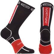 Northwave Sonic Winter Socks - Black/Red