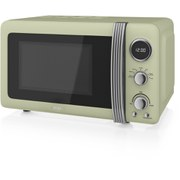 Swan SM22030GN 800W Digital Microwave - Green