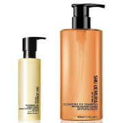 Shu Uemura Art of Hair Cleansing Oil Shampoo for Dry Scalp (400ml) and Conditioner (250ml)