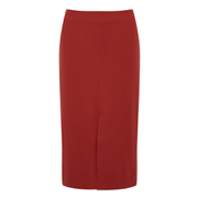 Selected Femme Women's Soma Pencil Skirt - Pompeian Red