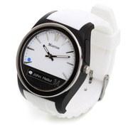 Martian Notifier Smart Watch (Kompatibel mit IOS und Android) - Weiβ