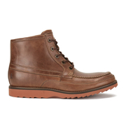 Bottines Hi Moc Toe Homme Rockport -Cuir Tanné