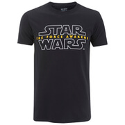 Star Wars Men's Force Awakens Logo T-Shirt - Black