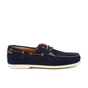Polo Ralph Lauren Men's Bienne II Suede Boat Shoes - Newport Navy