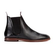 H Shoes by Hudson Men's Tamper Leather Chelsea Boots - Black