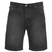 Cheap Monday Men's Line Denim Shorts - Element