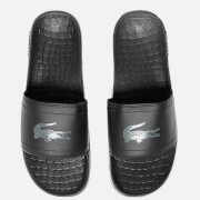 Lacoste Men's Frasier Slide Sandals - Black
