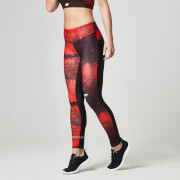 Myprotein Dames Power Tights - Rood beton
