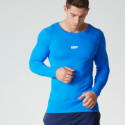 Myprotein Men's Seamless Performance Long Sleeve Top - Blue