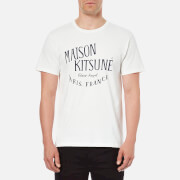 Maison Kitsuné Men's Palais Royal T-Shirt - White