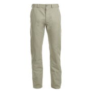 Maison Kitsuné Men's Linen Jay Chino Trousers - Beige