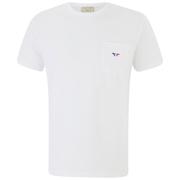 Maison Kitsuné Men's Tricolor Fox T-Shirt - White