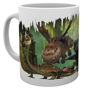 How To Train Your Dragon Dragons - Mug