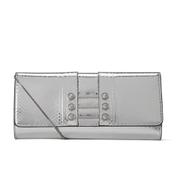 Versus Versace Women's Water Snake Clutch Bag - Silver