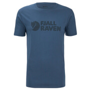 Fjallraven Men's Logo T-Shirt - Uncle Blue