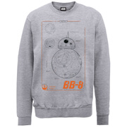 Sweat Star Wars BB-8 Exclusivité Zavvi -Gris