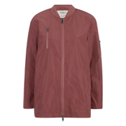 ONLY Women's Lori Nylon Jacket - Marsala